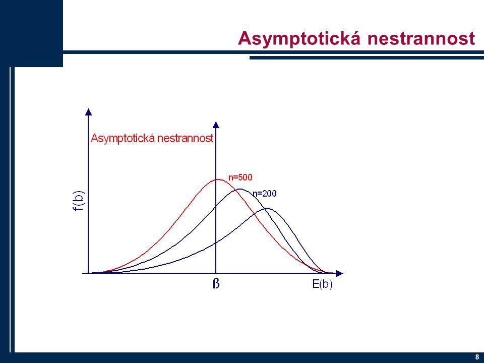 Asymptotická nestrannost