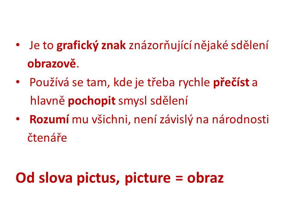 Od slova pictus, picture = obraz
