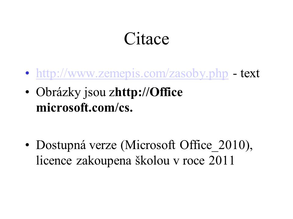 Citace http://www.zemepis.com/zasoby.php - text