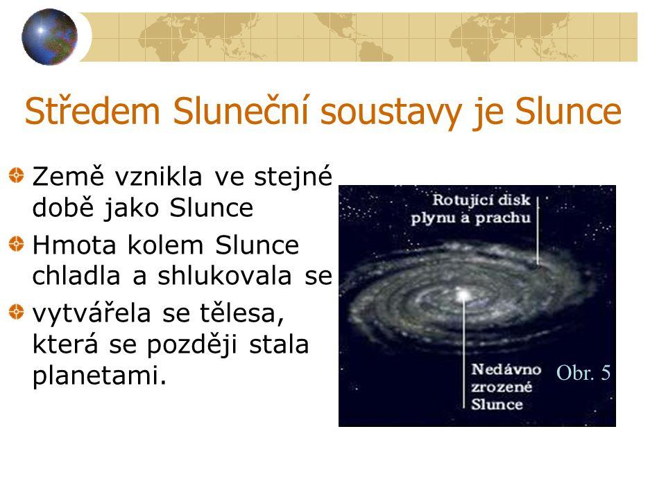 Středem Sluneční soustavy je Slunce