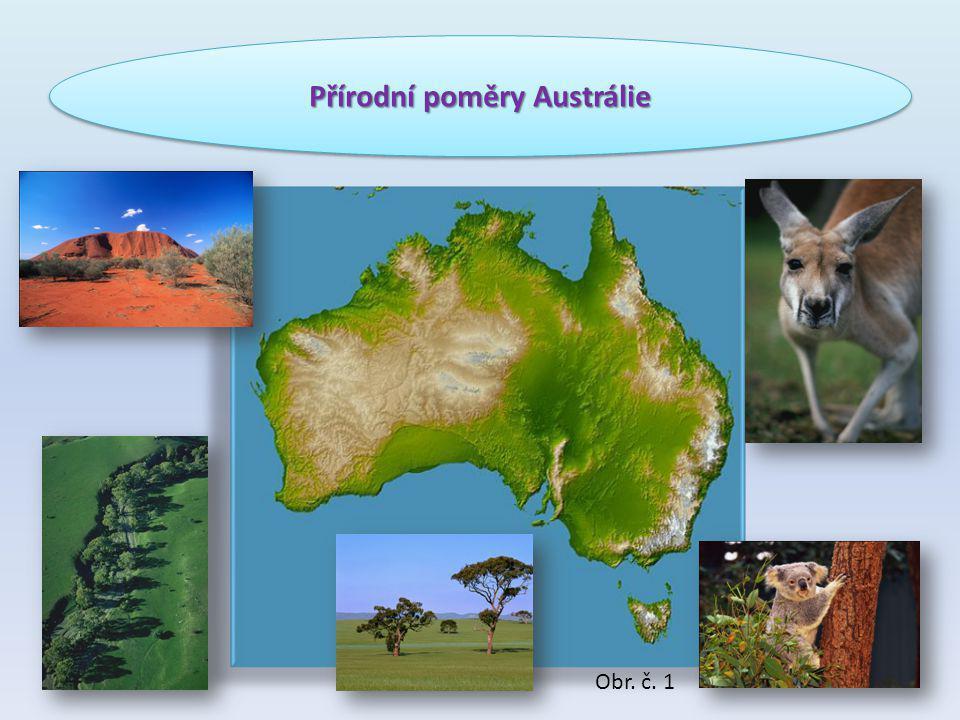 Přírodní poměry Austrálie