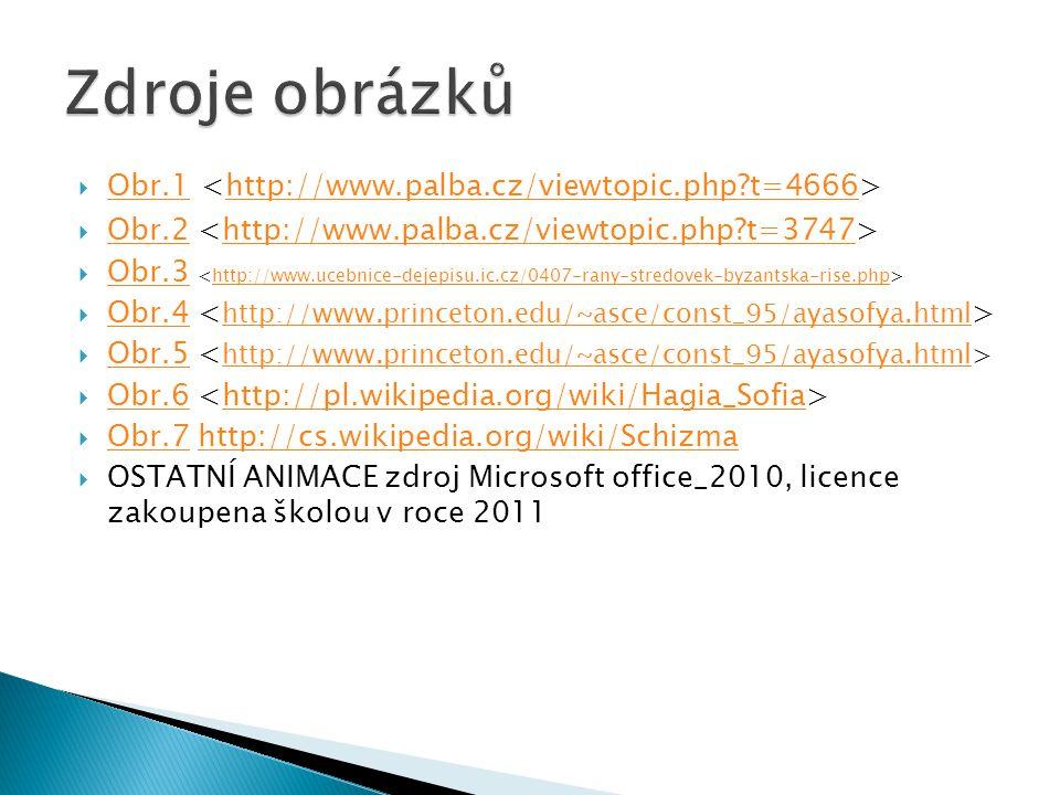 Zdroje obrázků Obr.1 <http://www.palba.cz/viewtopic.php t=4666>
