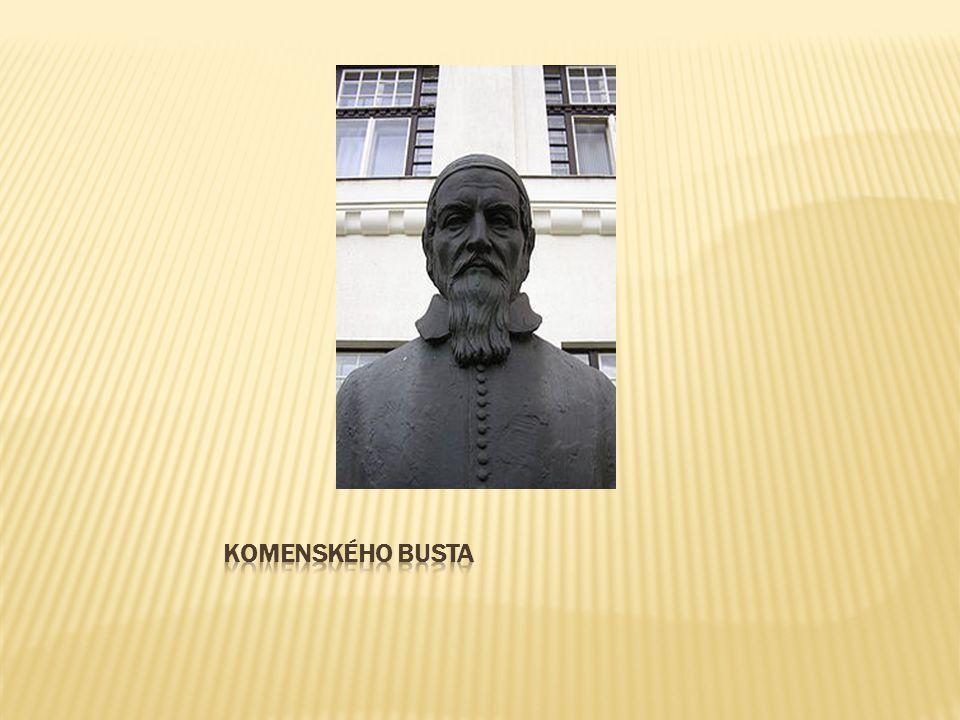 Komenského busta