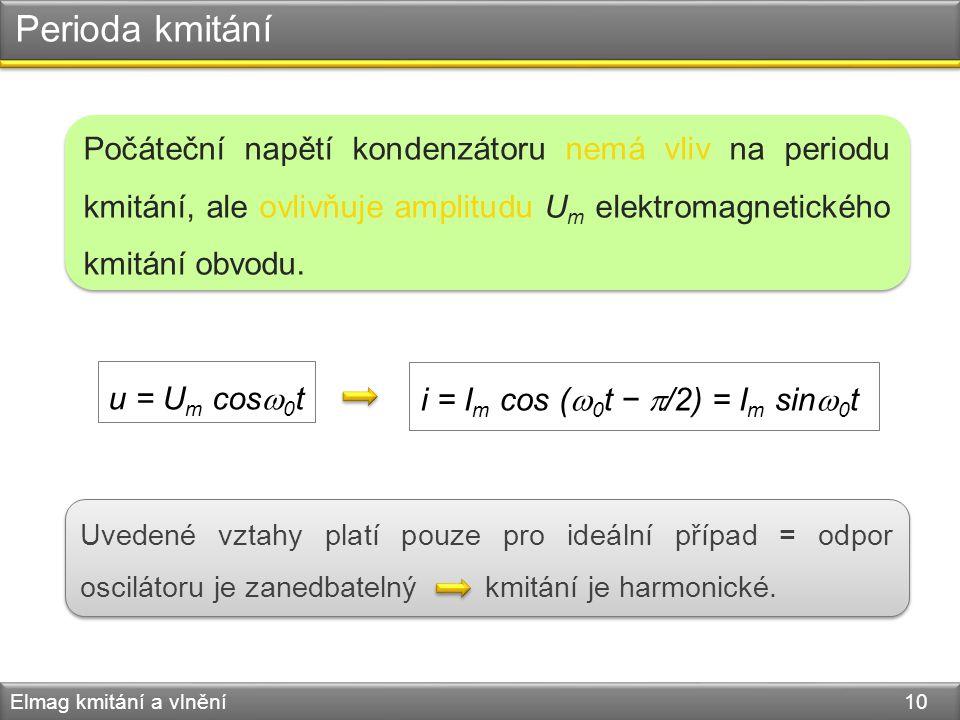 i = Im cos (0t − /2) = Im sin0t