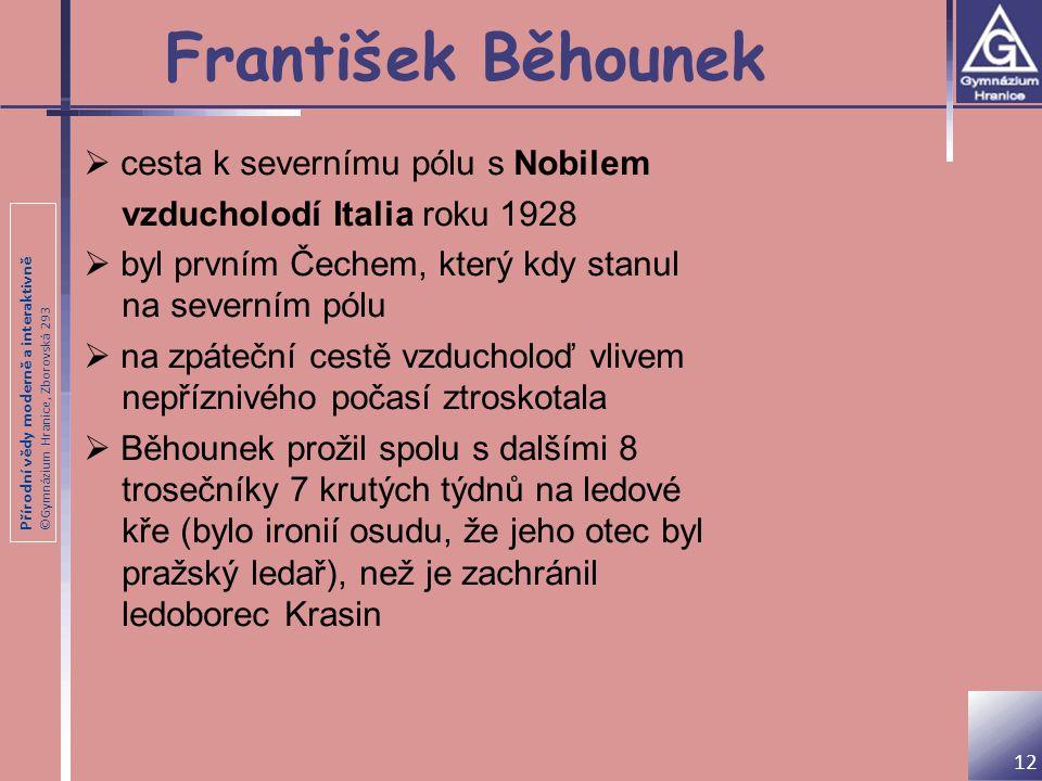 František Běhounek cesta k severnímu pólu s Nobilem