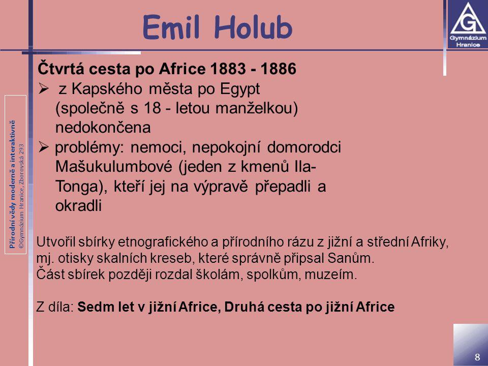 Emil Holub Čtvrtá cesta po Africe 1883 - 1886