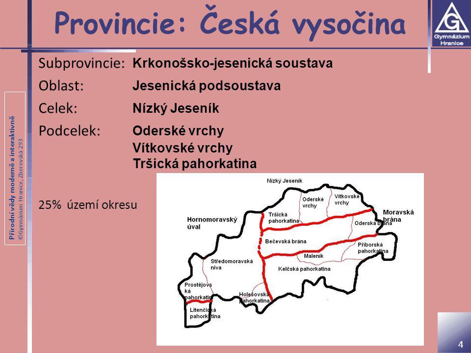 Provincie: Česká vysočina