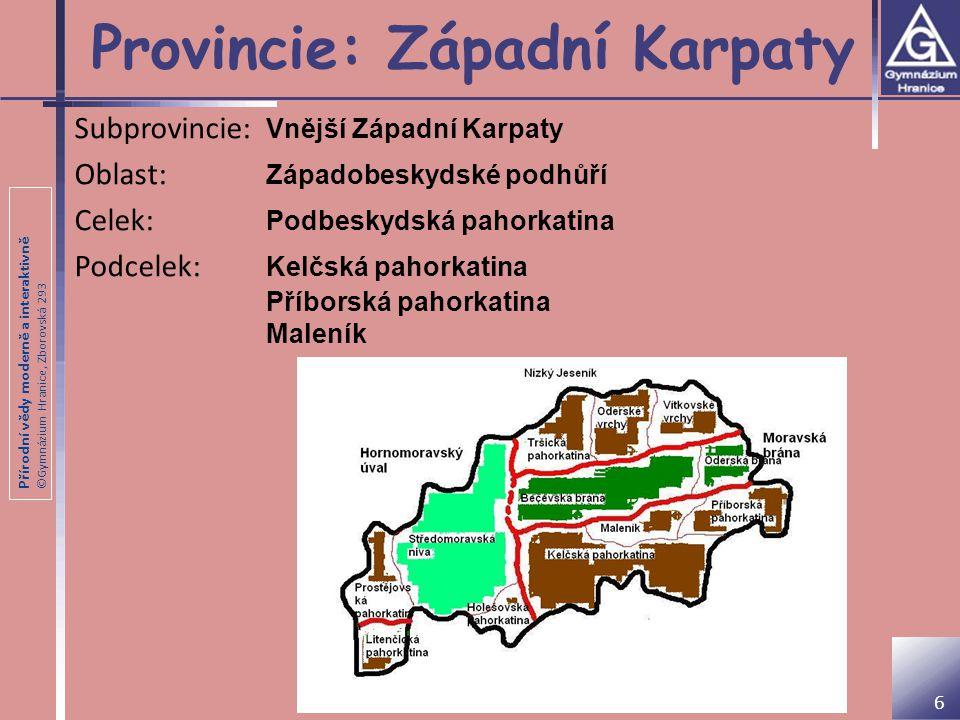 Provincie: Západní Karpaty