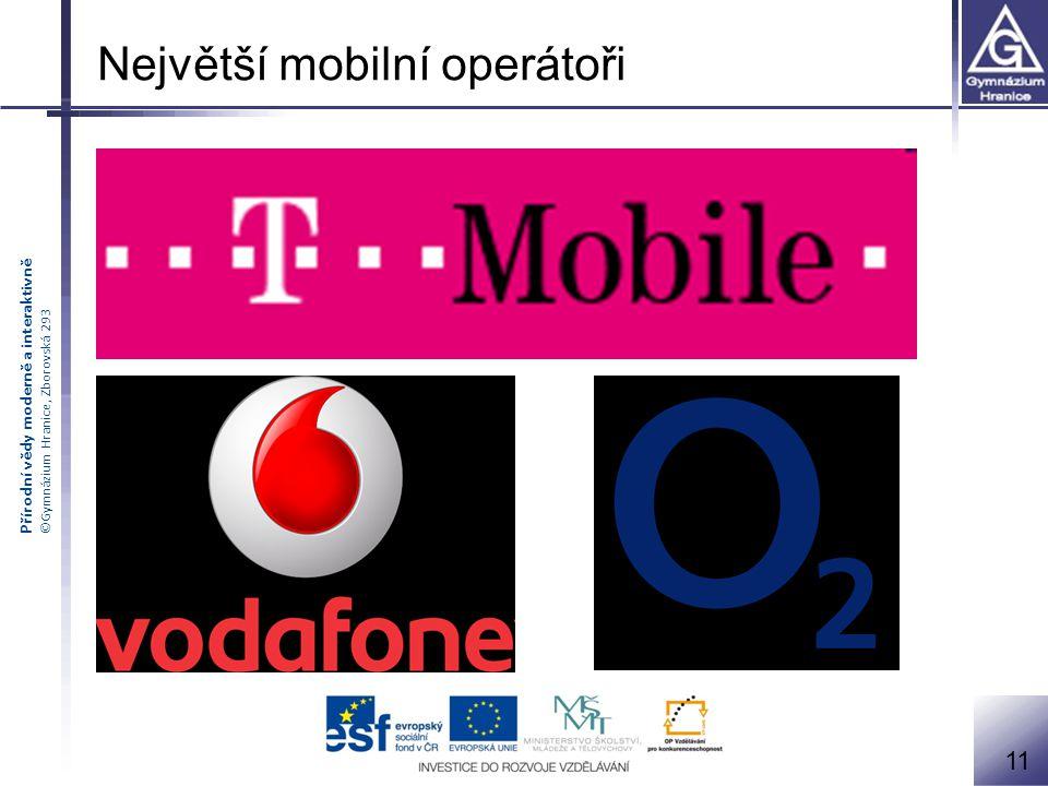 Největší mobilní operátoři