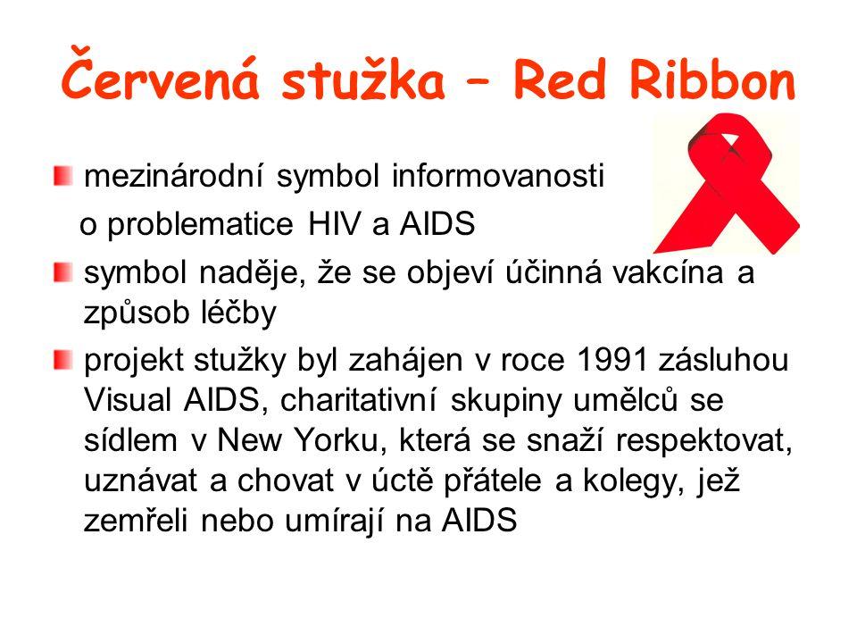 Červená stužka – Red Ribbon
