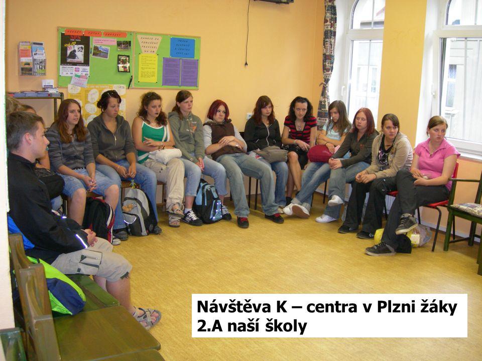 Návštěva K – centra v Plzni žáky