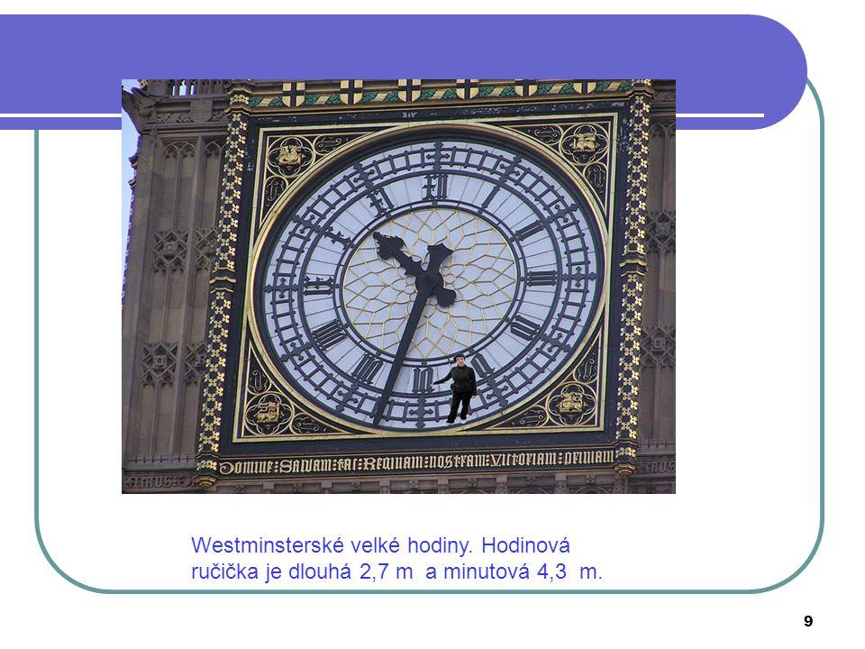 Westminsterské velké hodiny