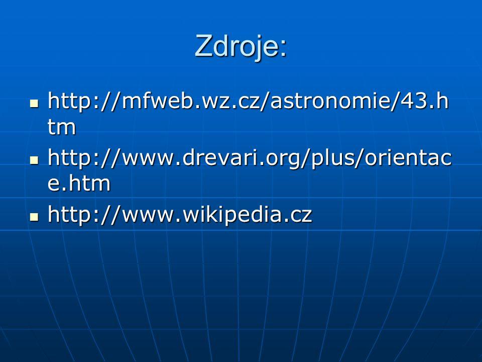 Zdroje: http://mfweb.wz.cz/astronomie/43.htm