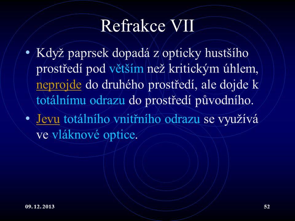 Refrakce VII
