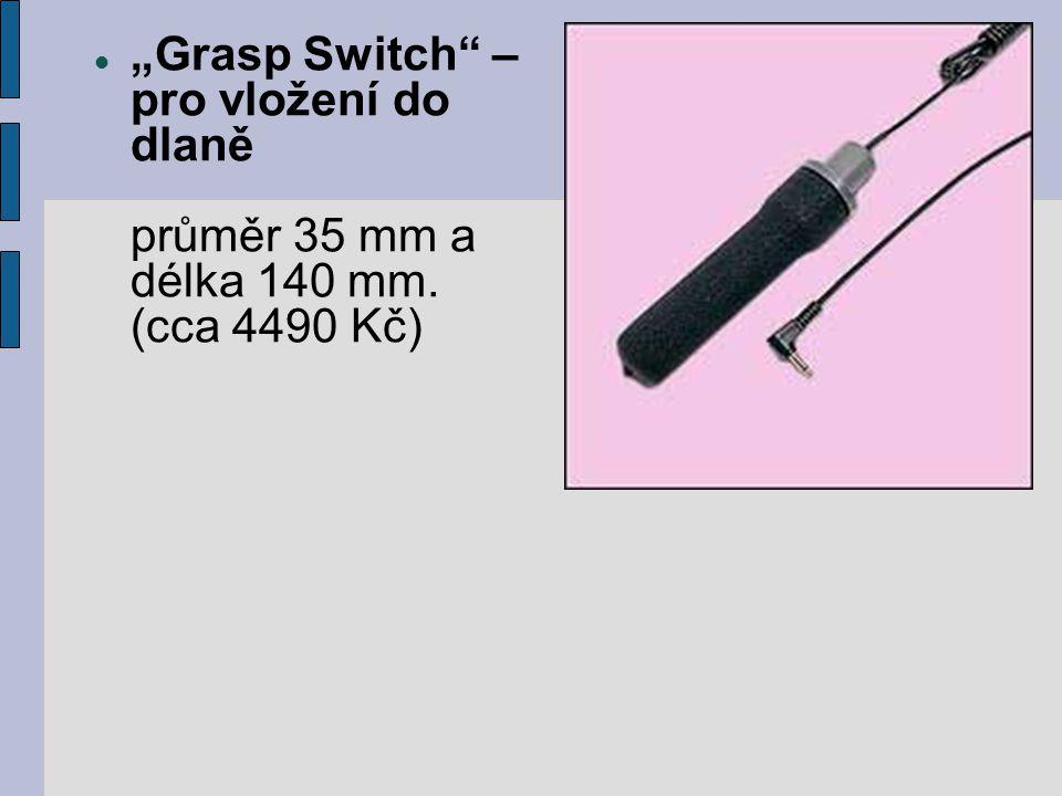 """""""Grasp Switch – pro vložení do dlaně průměr 35 mm a délka 140 mm"""