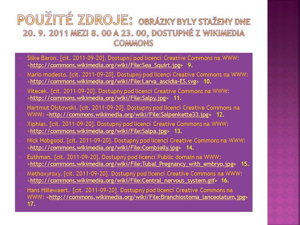 Použité zdroje: Obrázky byly staženy dne 20. 9. 2011 mezi 8. 00 a 23
