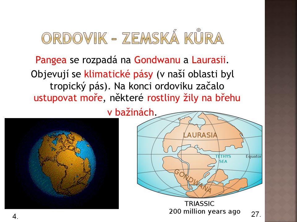 ordovik – zemská kůra