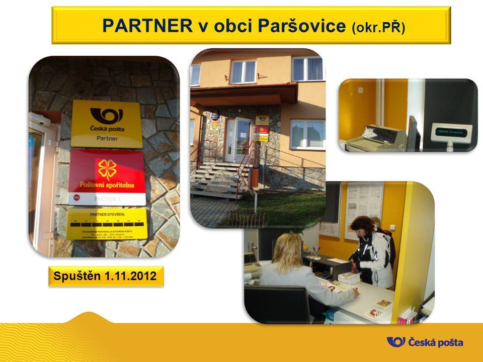 PARTNER v obci Paršovice (okr.PŘ)