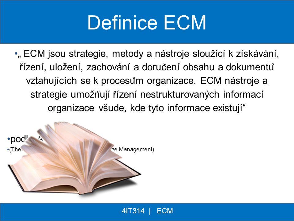 Definice ECM