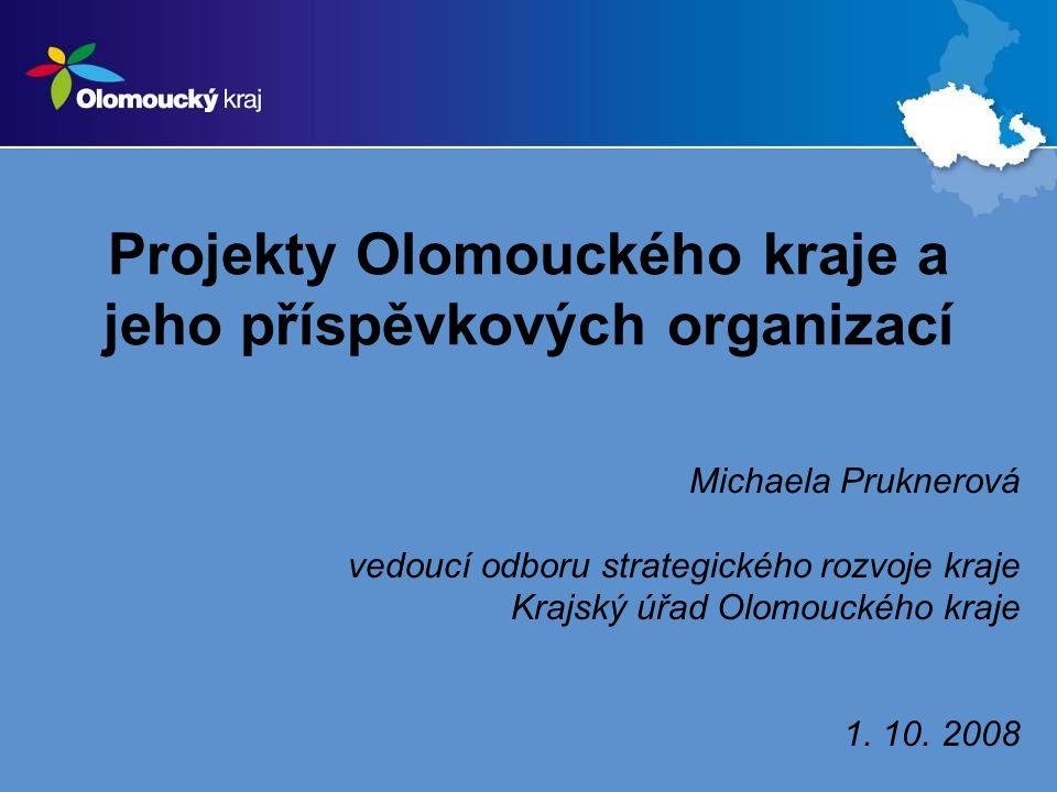 Projekty Olomouckého kraje a jeho příspěvkových organizací