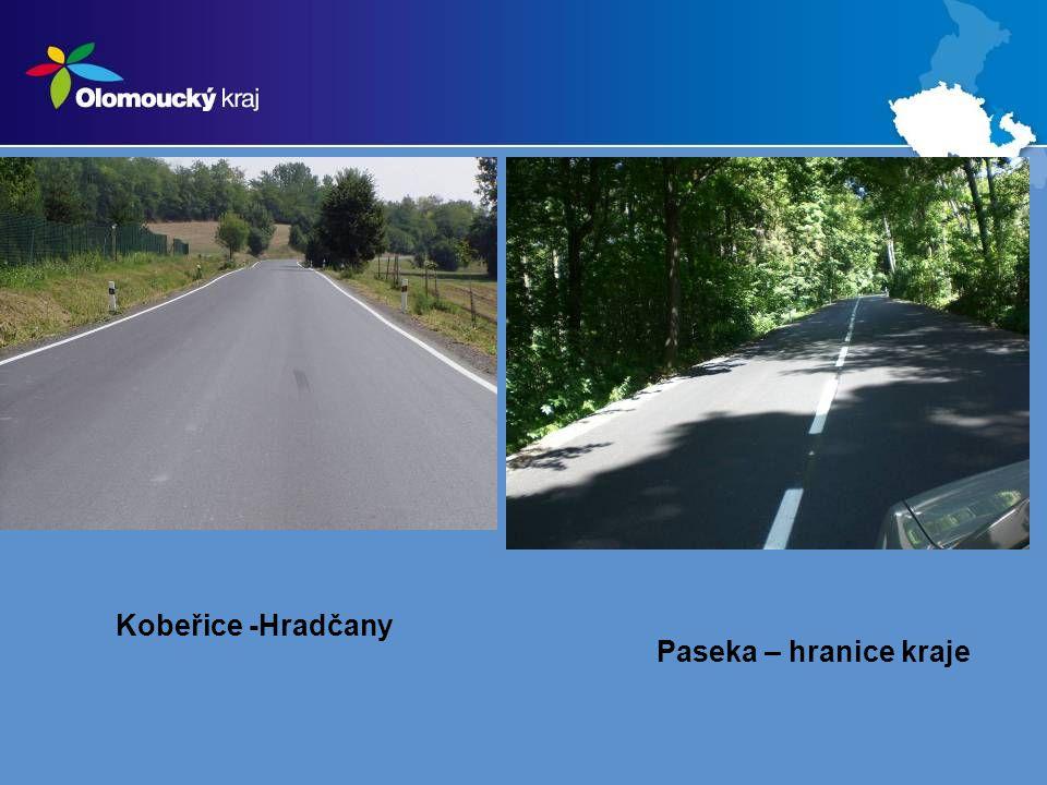 Kobeřice -Hradčany Paseka – hranice kraje