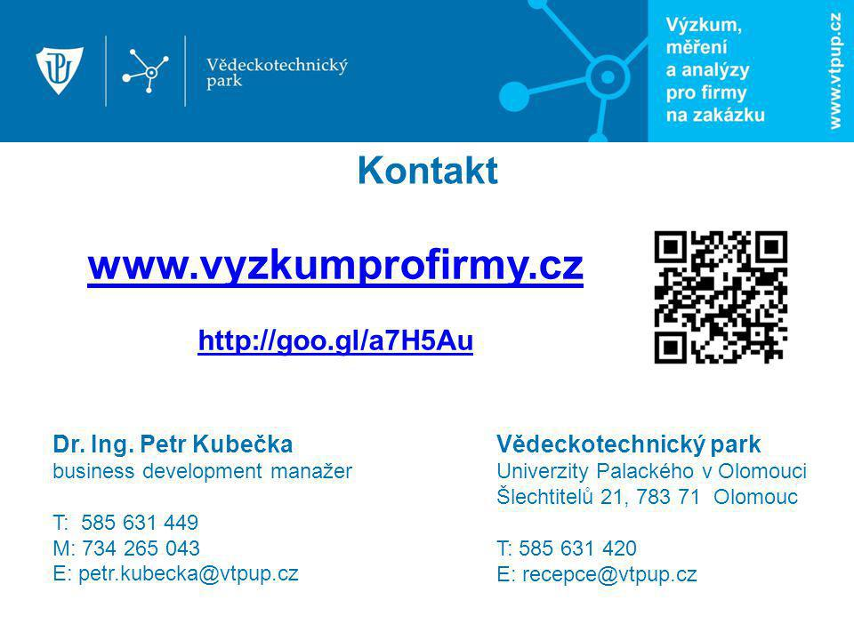 www.vyzkumprofirmy.cz Kontakt http://goo.gl/a7H5Au