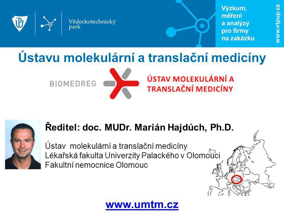 Ústavu molekulární a translační medicíny