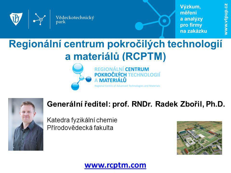 Regionální centrum pokročilých technologií a materiálů (RCPTM)