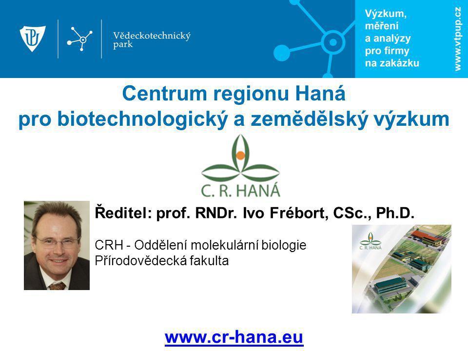 Centrum regionu Haná pro biotechnologický a zemědělský výzkum