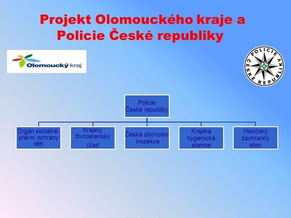 Projekt Olomouckého kraje a Policie České republiky