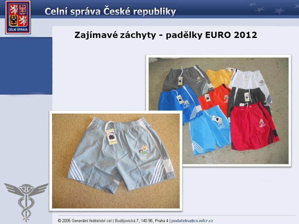 Zajímavé záchyty - padělky EURO 2012