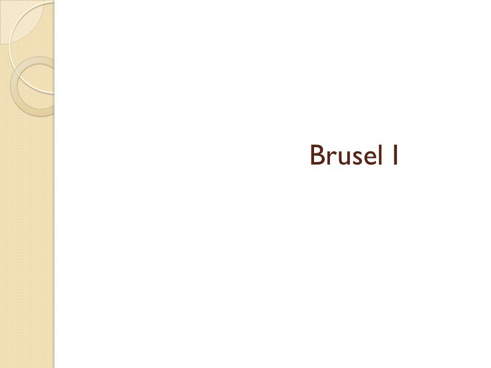 Brusel I