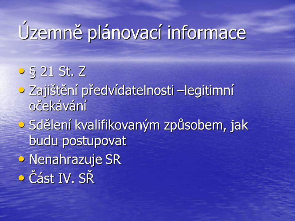 Územně plánovací informace