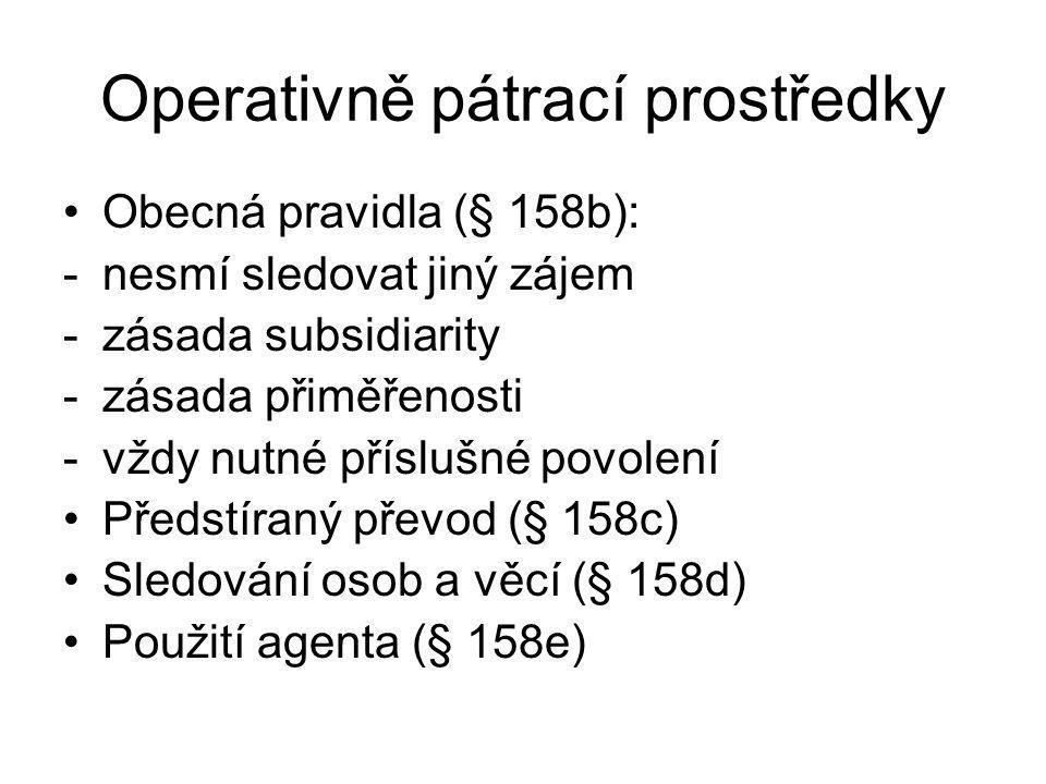 Operativně pátrací prostředky