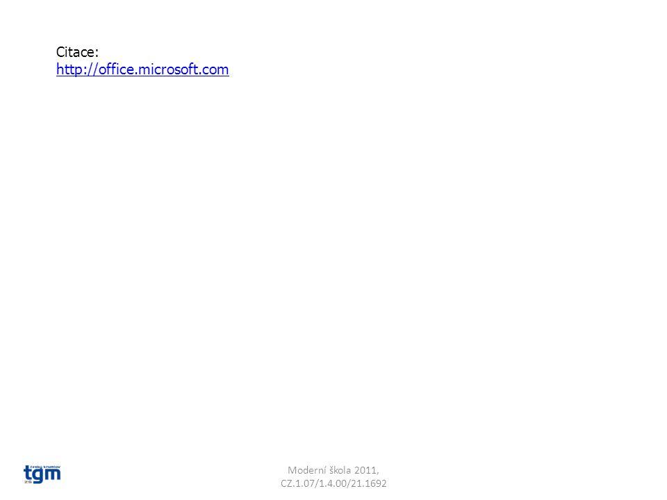 http://office.microsoft.com Citace: