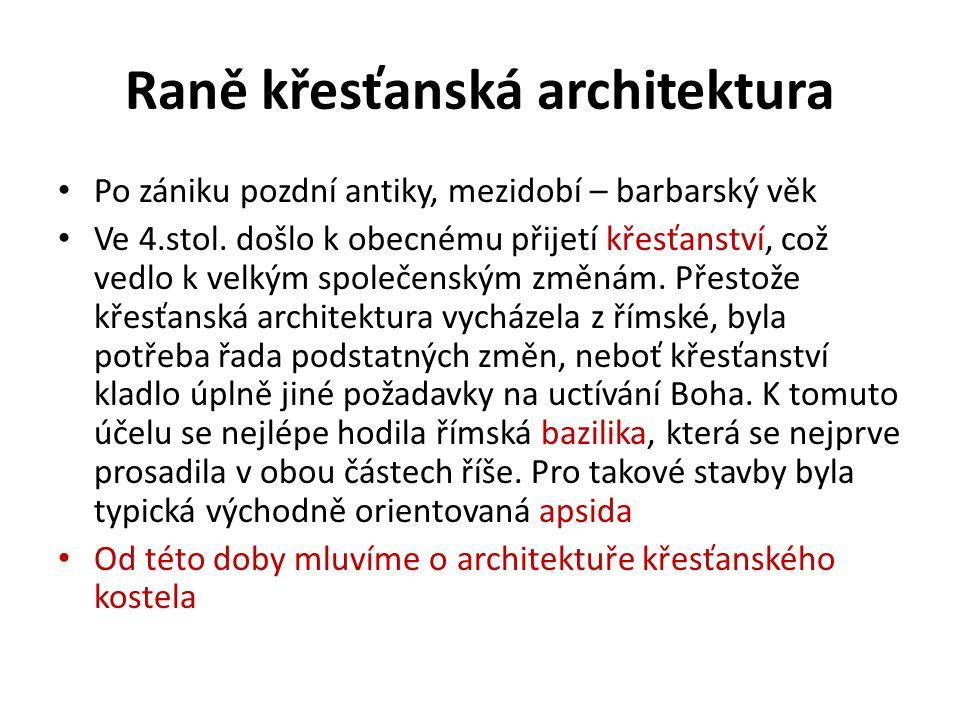 Raně křesťanská architektura