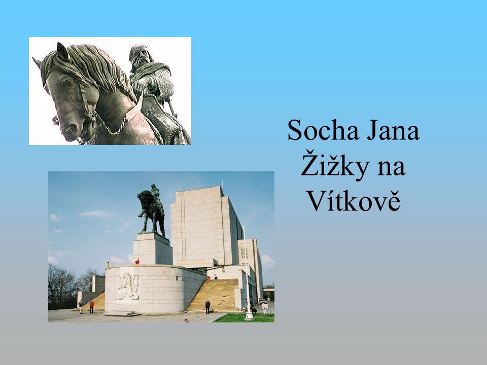 Socha Jana Žižky na Vítkově