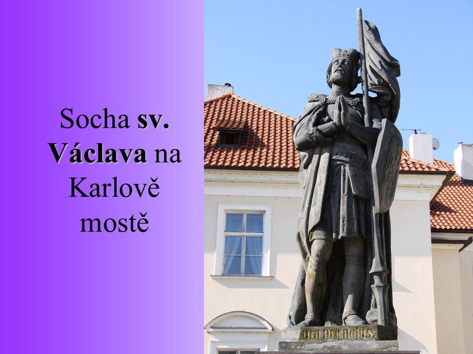 Socha sv. Václava na Karlově mostě