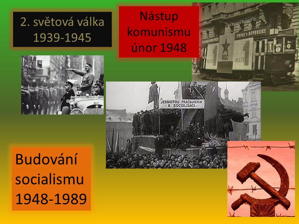 Budování socialismu 1948-1989 Nástup komunismu únor 1948
