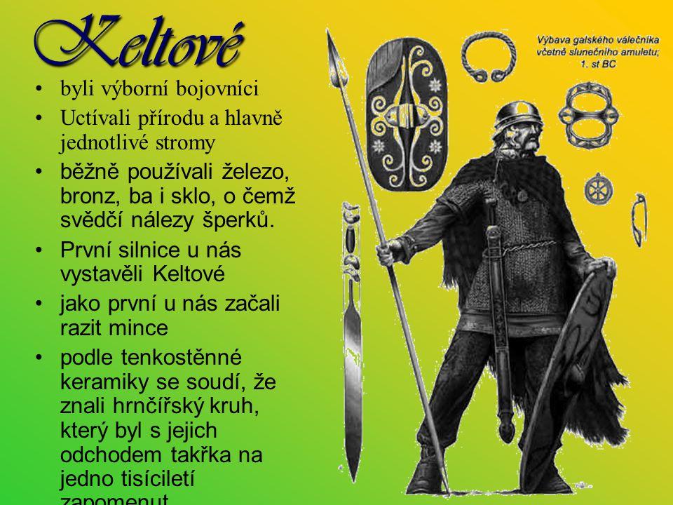 Keltové byli výborní bojovníci