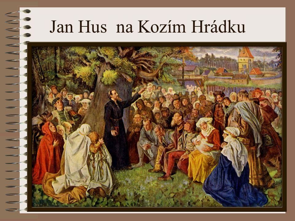 Jan Hus na Kozím Hrádku