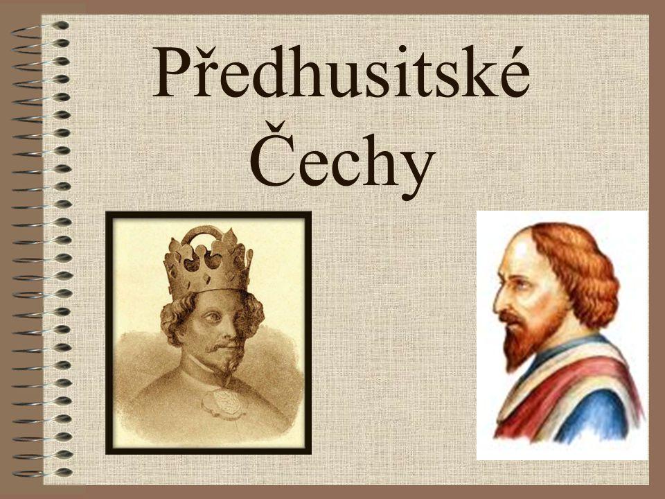 Předhusitské Čechy