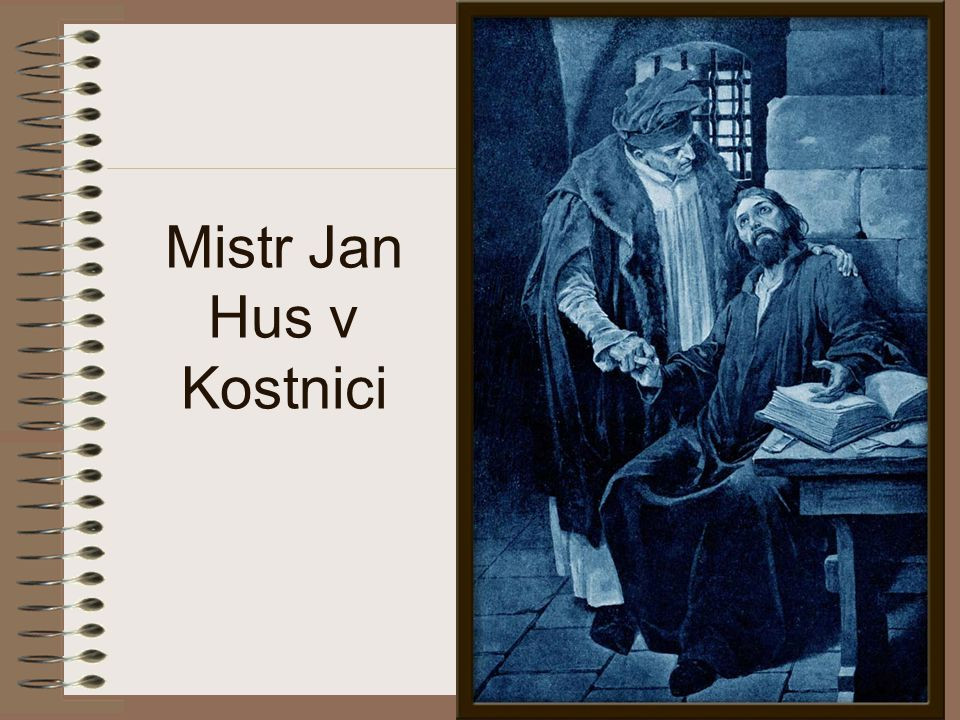 Mistr Jan Hus v Kostnici