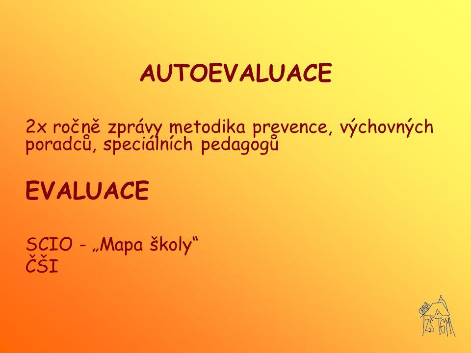 AUTOEVALUACE EVALUACE