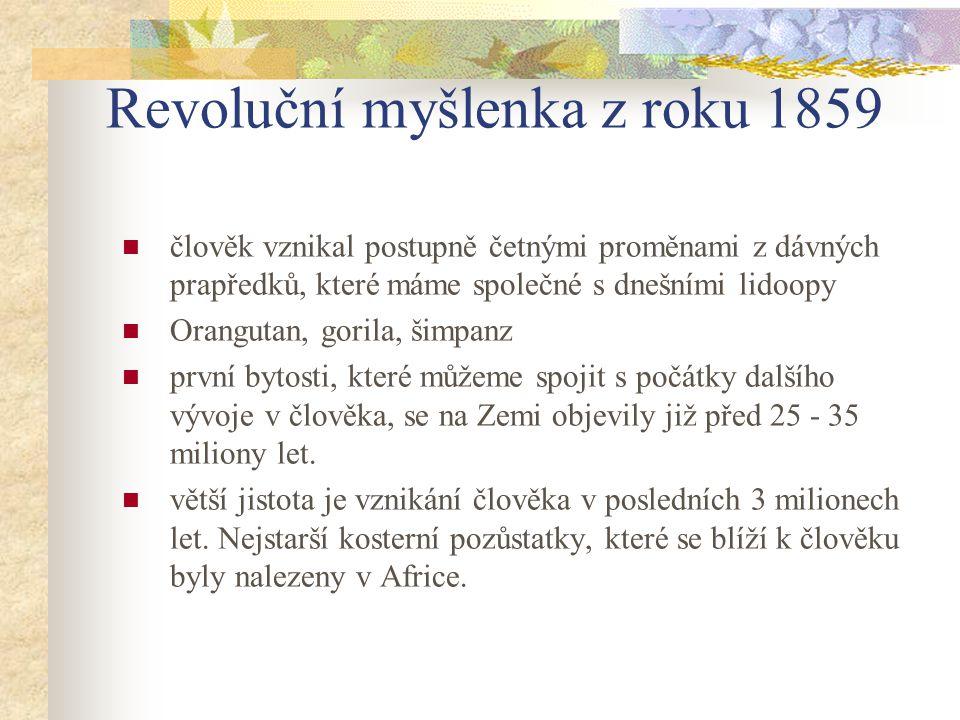 Revoluční myšlenka z roku 1859