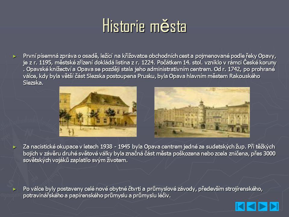 Historie města