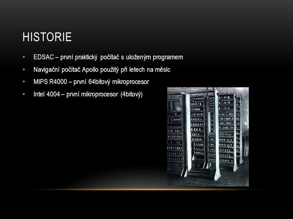 Historie EDSAC – první praktický počítač s uloženým programem