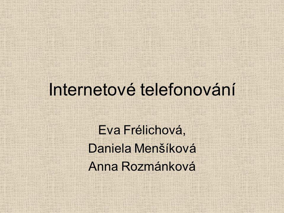 Internetové telefonování