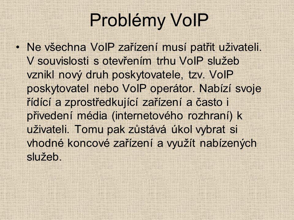 Problémy VoIP