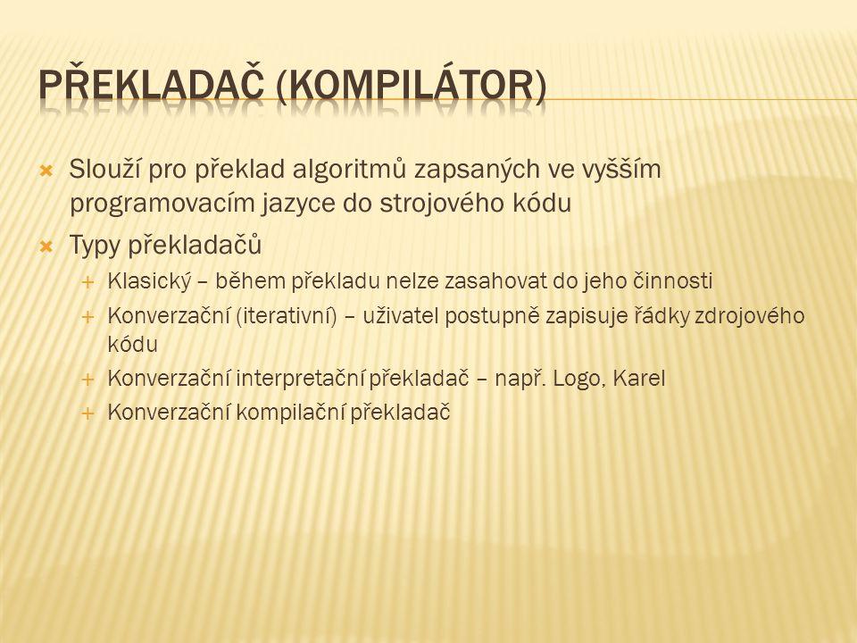 Překladač (kompilátor)